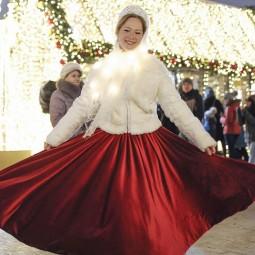 Рождество в парках Москвы 2019