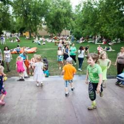 День защиты детей в Парке Горького и МУЗЕОНЕ 2017