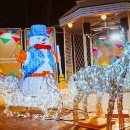 Рождество в парке «Сокольники» 2019