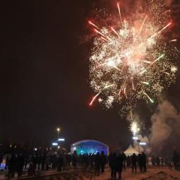 Новогодняя ночь в парке «Садовники» 2017