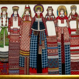 Выставка «Я люблю тебя, Россия…»