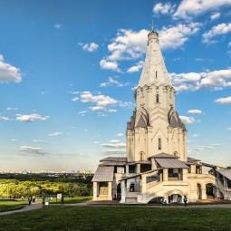 Стендовая выставка «Прогулки по Коломенскому»