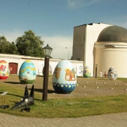 Выставка «Пасхальные яйца»