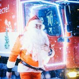 Рождественский Караван Coca-Cola в «Кузьминках» 2017