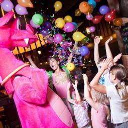 День рождения парка аттракционов Happylon в ТРК VEGAS