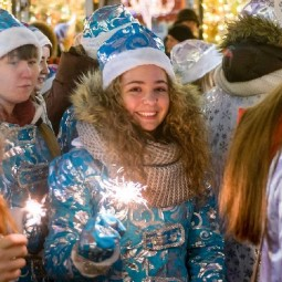 Новогодняя ночь 2019 в парках Москвы