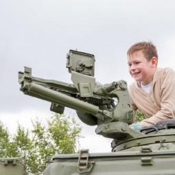 День танкиста в Музее Победы 2021