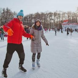 Каток «Лед» в парке «Сокольники» 2016