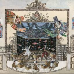 Выставка «Художники большой сцены»