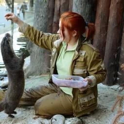 День всех влюбленных в Московском зоопарке 2019