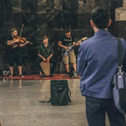 Проект «Музыка в метро»