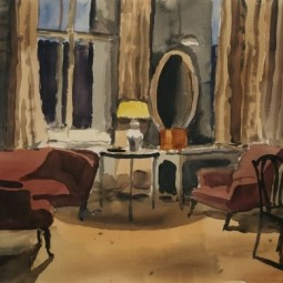 Выставка «Сцены частной жизни. Интерьер в графике XX века»