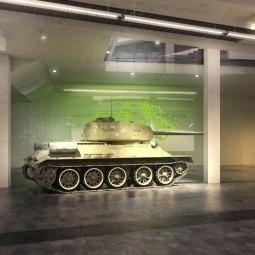 Броне-фест в музее «История танка Т-34» 2019