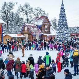 Новогодние праздники в Московской Усадьбе Деда Мороза 2020