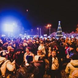 Новогодняя ночь 2016 в парках Москвы
