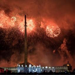 Новый год в Парке Победы 2018