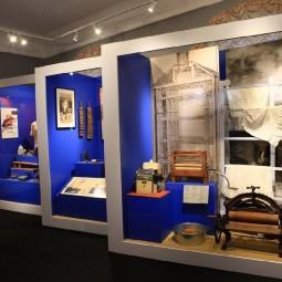 Выставка «Снаряд для глажения одежи, или об истории утюга»