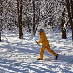 Лыжные трассы в парках Москвы 2021