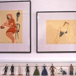 Выставка «Рисунки Давида Боровского»