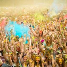 Фестиваль красок «Ирис» 2017