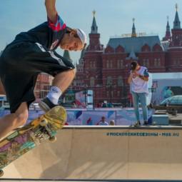 Спортивные площадки на Дне города Москвы 2019