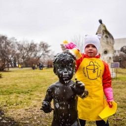 Субботник в парке искусств «Музеон» 2019