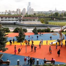 Летняя игротека в Парке Победы 2016