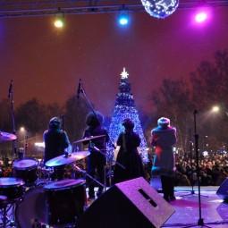 Новогодняя ночь в парке «Кузьминки» 2017