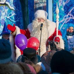 Путешествие Деда Мороза по округам Москвы 2015