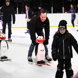 Открытие зимнего сезона в парке «Красная Пресня» 2016