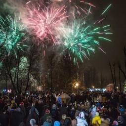 Новогодняя ночь в парке «Усадьба Воронцово» 2019
