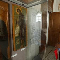 Выставка «Иконописный образ Иоанна Крестителя»