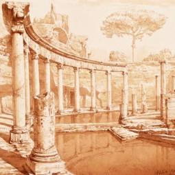 Выставка «Римское время. Графика Максима Атаянца»