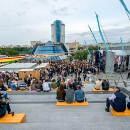 Летний кинотеатр в пространстве «Площадь Сити» 2017