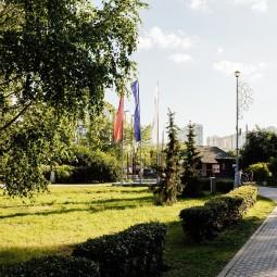 Занятия бегом в Воронцовском Парке