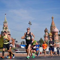 Полумарафон «Лужники» 2019