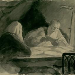 Выставка «Любящий Вас Николай Ге. К 190–летию со дня рождения Н.Н. Ге»