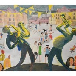 Выставка «Упоительный желтый»