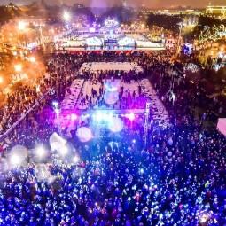 Новогодняя ночь 2018 в парках Москвы