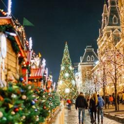 Топ-10 лучших событий в новогодние праздники в Москве 2019