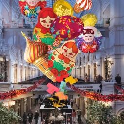 Китайский Новый год в ГУМе 2018