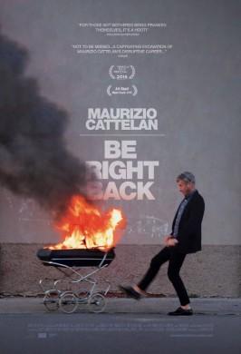 Маурицио Каттелан: Ушел, скоро буду