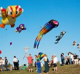 XV Фестиваль воздушных змеев «Пестрое небо»
