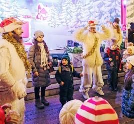 Фестиваль «Путешествие в Рождество» в парках Москвы 2018/19