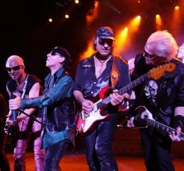 Концерт группы The Scorpions в Москве 2017
