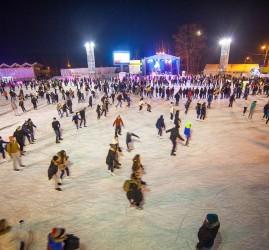 Каток «Лед» в парке «Сокольники» 2018/19