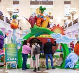 Интерактивная выставка «Здоровая еда супергероев» в ЦДМ на Лубянке