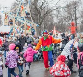 Семейная Масленица в Перовском парке 2017