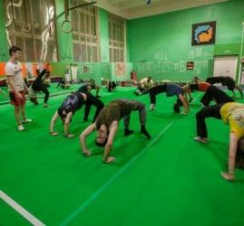 Happy «Acro» Birthday в спортивном центре Naused