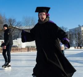 День студента на катке ВДНХ 2018